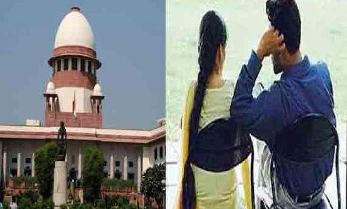 historic supreme court approves live in relationships asks