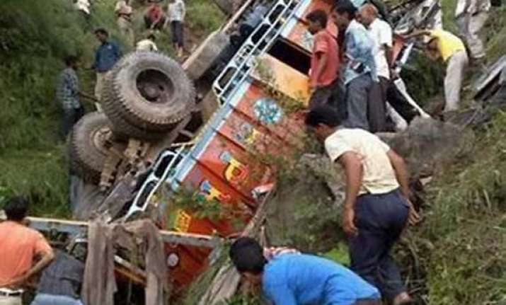 local bjp leader dies in vehicle mishap