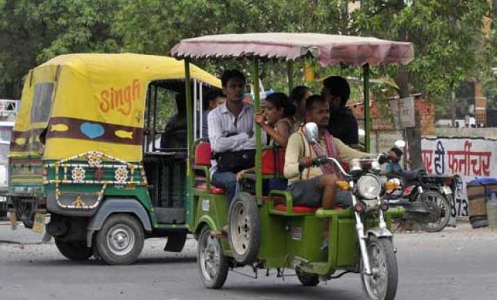 local bodies to regulate e rickshaws transport ministry