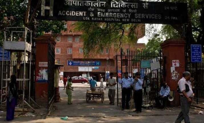 lok nayak hospital to be made model health care facility