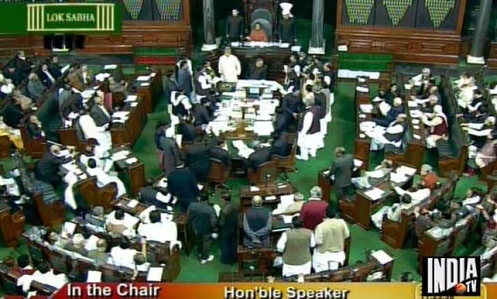 lokpal bill introduced in lok sabha parties object