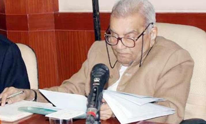 lokpal bill is a farce on the public former judge rajinder