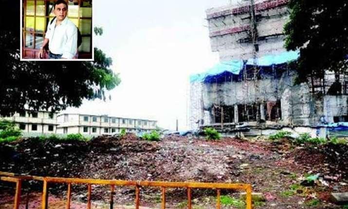 mhada takes back plot from gavaskar after 23 years