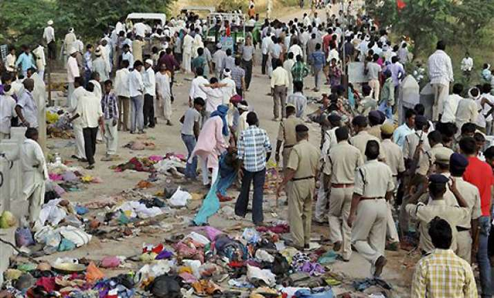 mp govt to set up inquiry commission to probe stampede