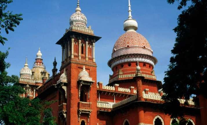 madras hc upholds single judge s order dismisses appeal