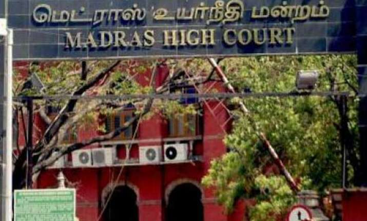madras high court land grabbers should be dealt with