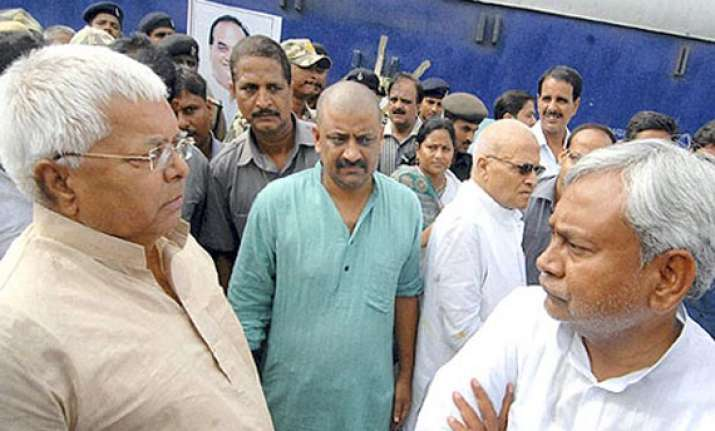 maharajganj by poll to showcase popularity of nitish lalu