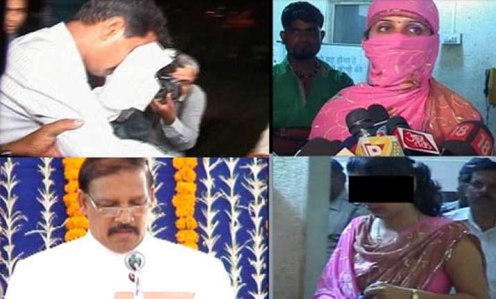 maharashtra minister s pa arrested for molesting woman
