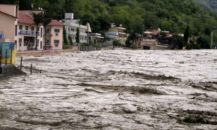 major rivers rise in up