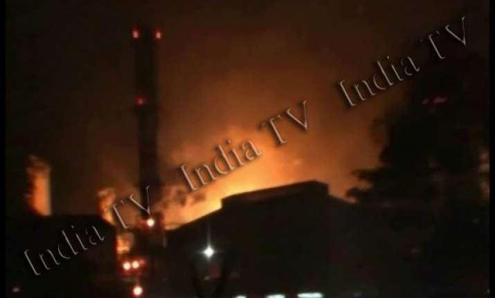 major fire in nrl ulfa claims responsibility