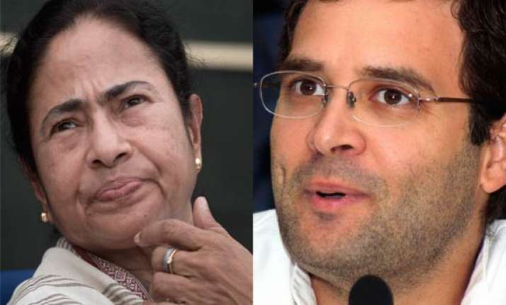 making rahul as pm is congress prerogative says mamata