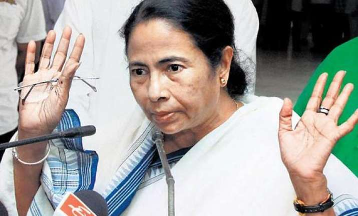 mamata angry at centre calling gta official