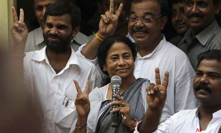 mamata elected tclp leader says cong will join her ministry