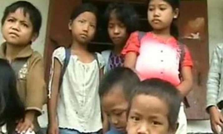 manipur survey shows shortcomings in scheme for children