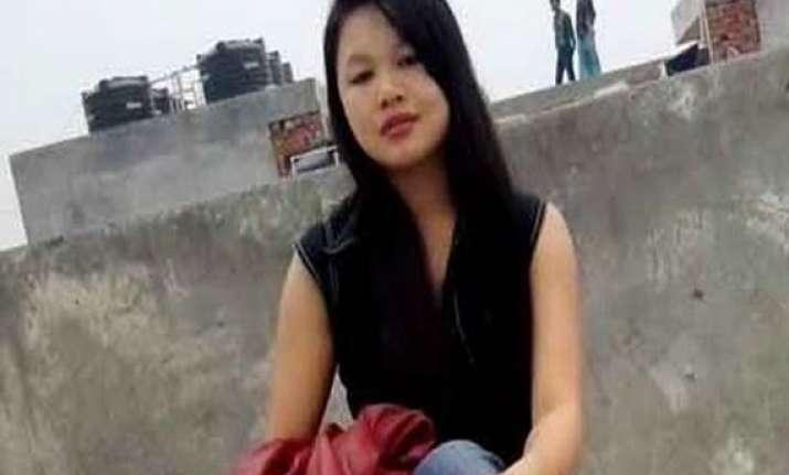 manipuri students gherao malviya nagar police station in