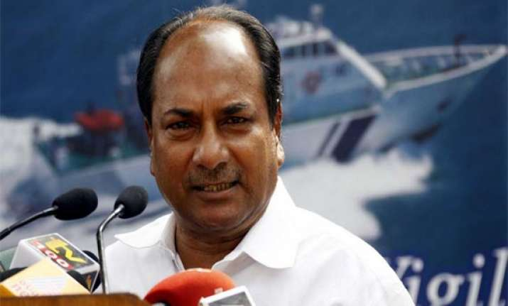antony rules out army deployment in anti naxal operations