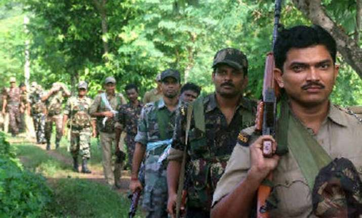 maoist attack fir against 7 massive search operation on