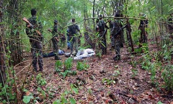maoist attack over 1 000 troops rushed to bastar jungles