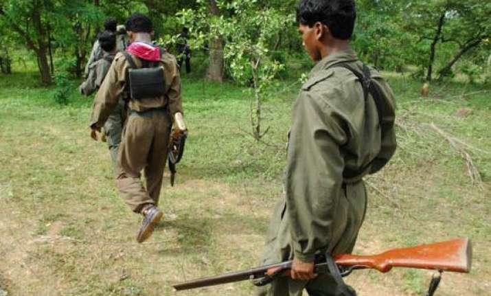 maoists blow up panchayat building in odisha