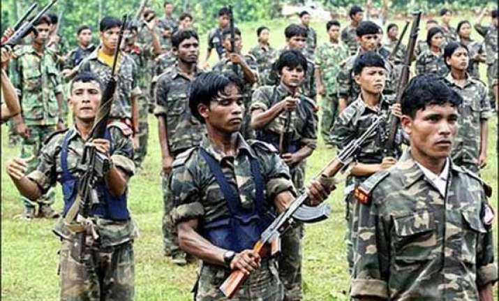 maoists trying to set up bases in upper assam centre