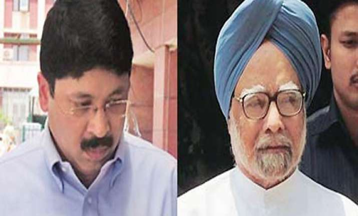 maran meets pm says it was routine