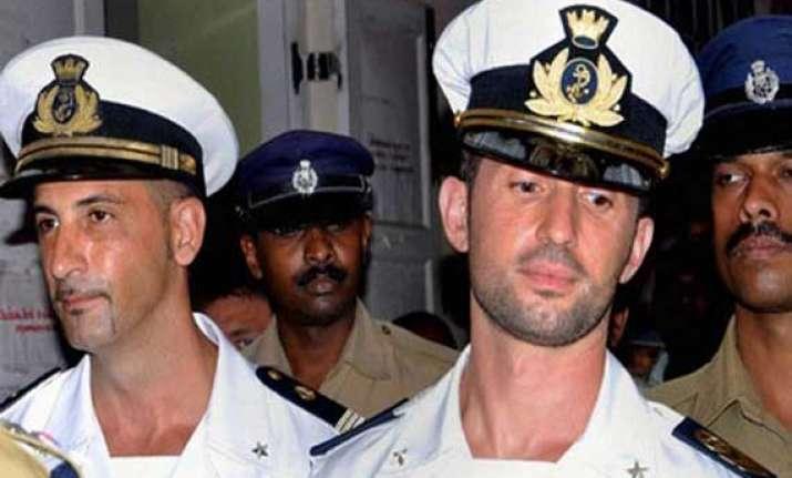 marines returned on guarantee of no death penalty italian