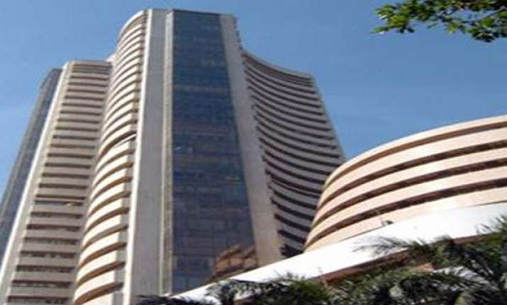 sensex plunges recovers and then falls