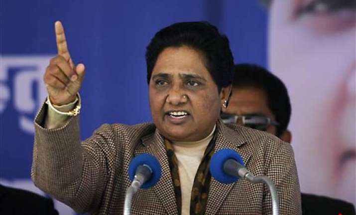 mayawati rubbishes poll surveys showing bsp faring badly