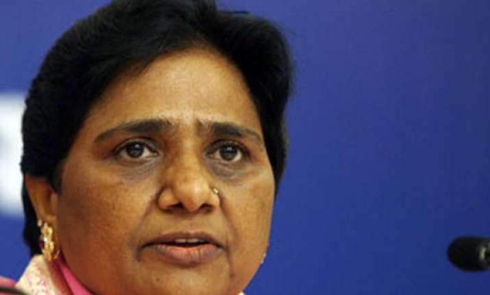 mayawati says up division resolution was moved under