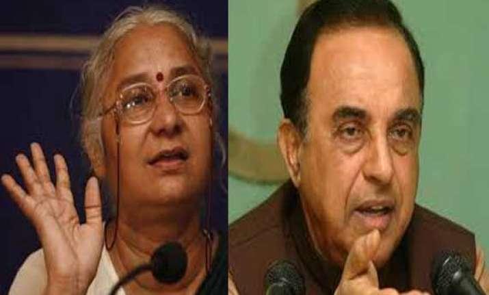 medha patkar dismisses swamy s remark calling her maoist