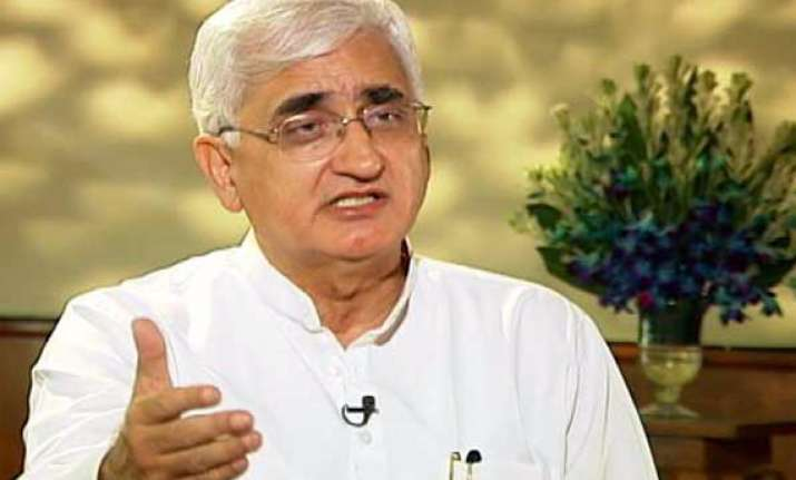 media should hold itself back a bit khurshid