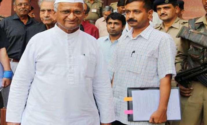 media tried to kill anna s movement says kejriwal