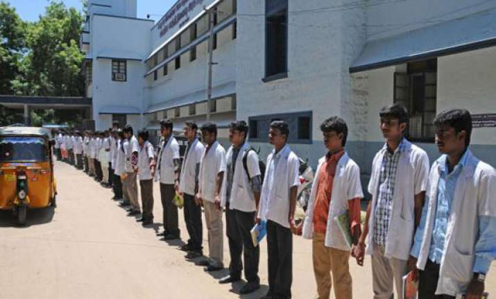 medical students rally for more post graduate seats