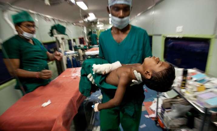 medical train a boon for bastar tribals