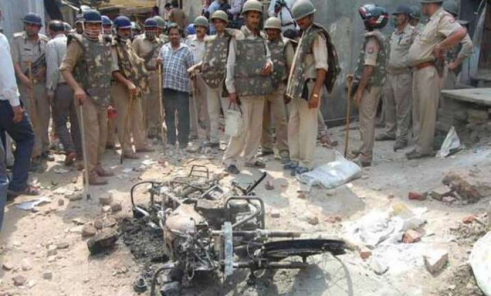 meerut clash youth succumbs to bullet injury normalcy