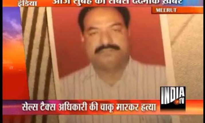 meerut couple detained for retired sales tax officer s