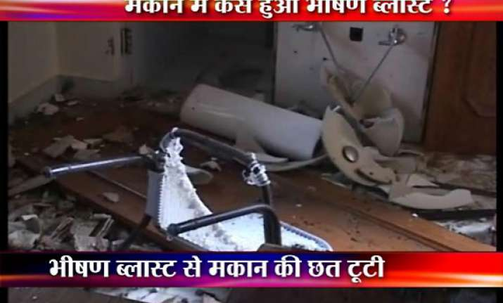 meerut lawyer s house blown up in mysterious blast