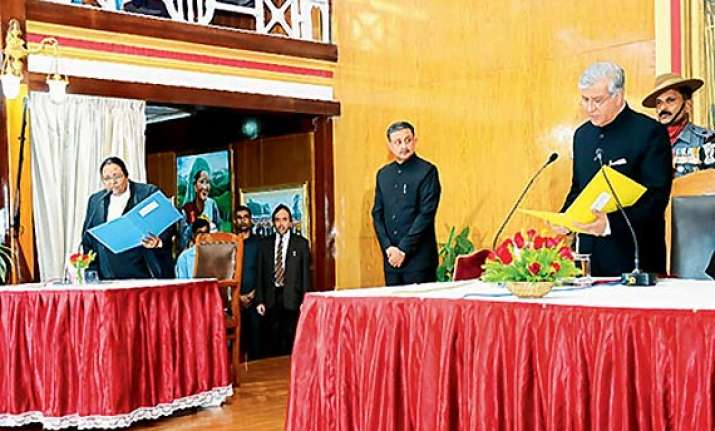 meghalaya governor k k paul not to use his excellency