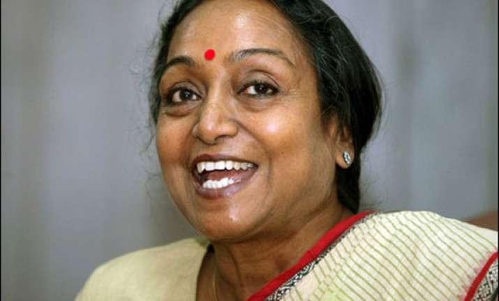 meira kumar files another plea in land grab case