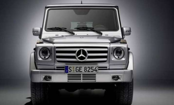 mercedes benz launches g class suv price rs 1.10 cr