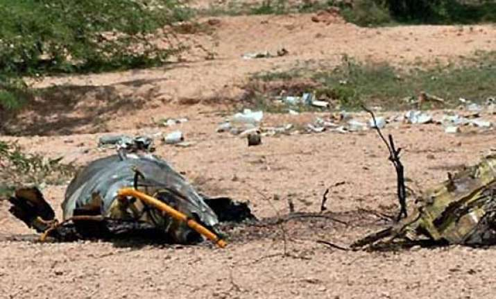 mig 21 crashes in rajasthan pilot ejects safely