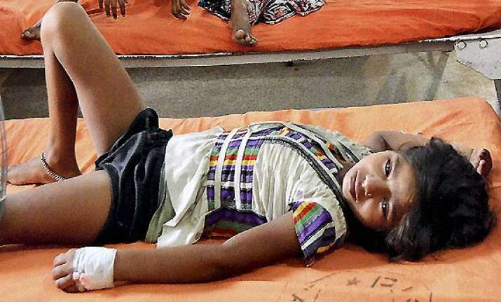 mid day meal 110 children taken ill in bihar