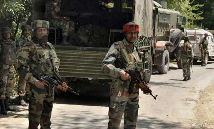 jem militant killed in gunfight with army locals hold