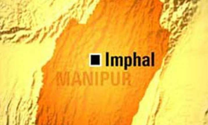 militants attack manipur official s residence
