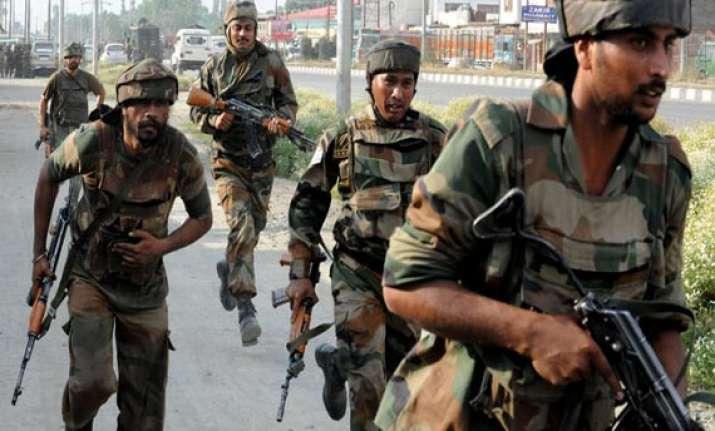 militants flagged army vehicle in srinagar started