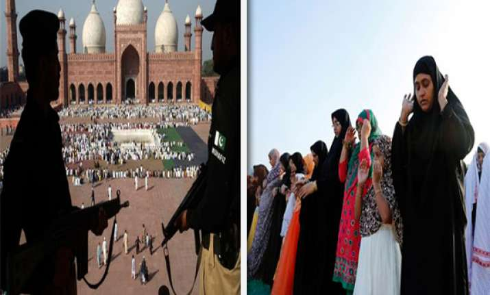 millions celebrate eid ul azha tight security in