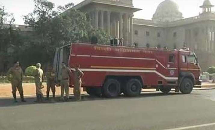 minor fire reported at pmo
