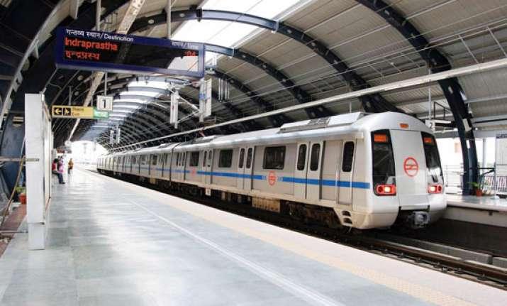 mob torches east delhi banquet hall metro services hit