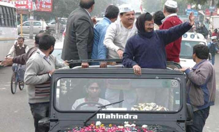 modi and hooda are property dealers kejriwal tells gurgaon