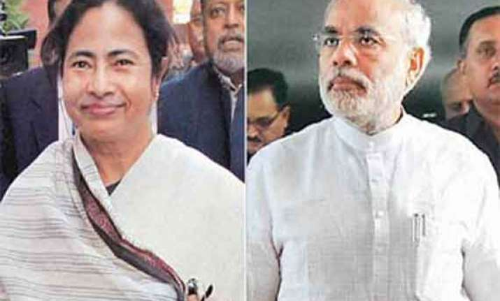 modi chooses not to cross swords with mamata